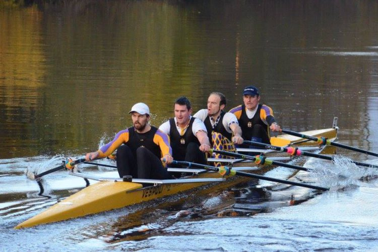 York Small Boats Head 2016. Pat Evans, Andy Wilkinson, Dan Lewis, Ben Bollans