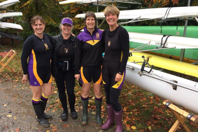 L&P Vets Fours Head Women