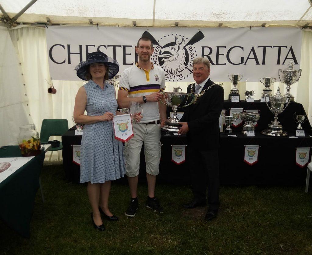 Op 1x Winner Jez at Chester Regatta